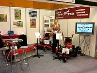 Expo stand at Harrogate BTME show