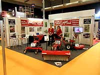 Expo stand at executive hire show