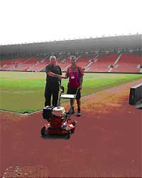 andy gray receiving rotocleanse pressure washer