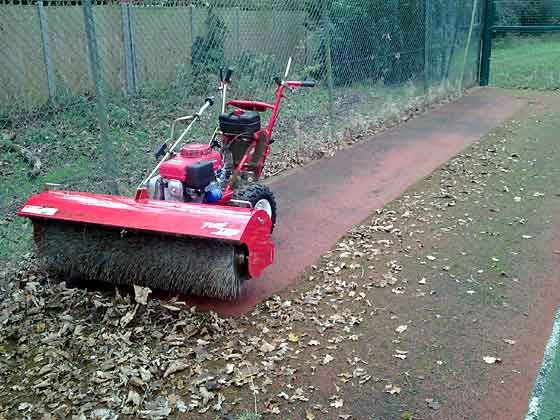 power sweeper to remove snow from sports pitch (large pic)