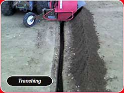 power edger for trenching