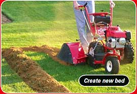 power edger to create new beds