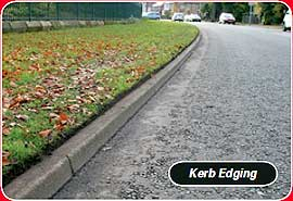 power edger for kerb edging